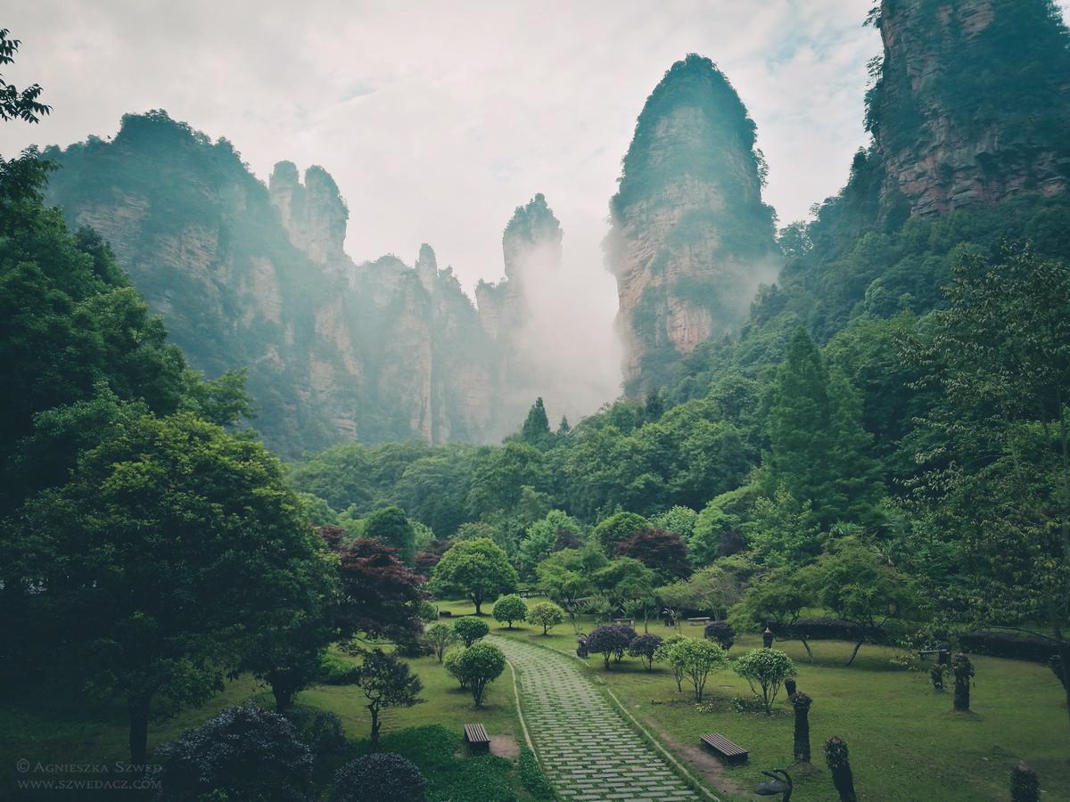 W Parku Narodowym Zhangjiajie