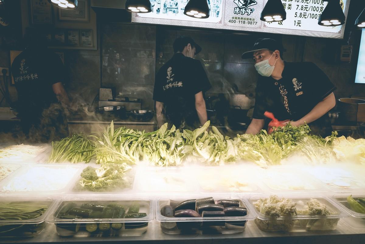 Chiński Street Food Market