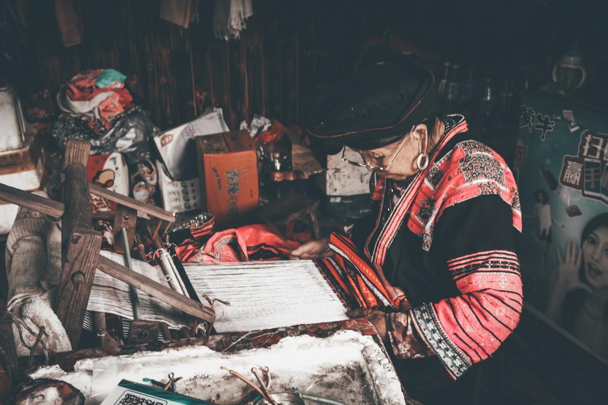 Kobieta z plemienia Yao w Longshen