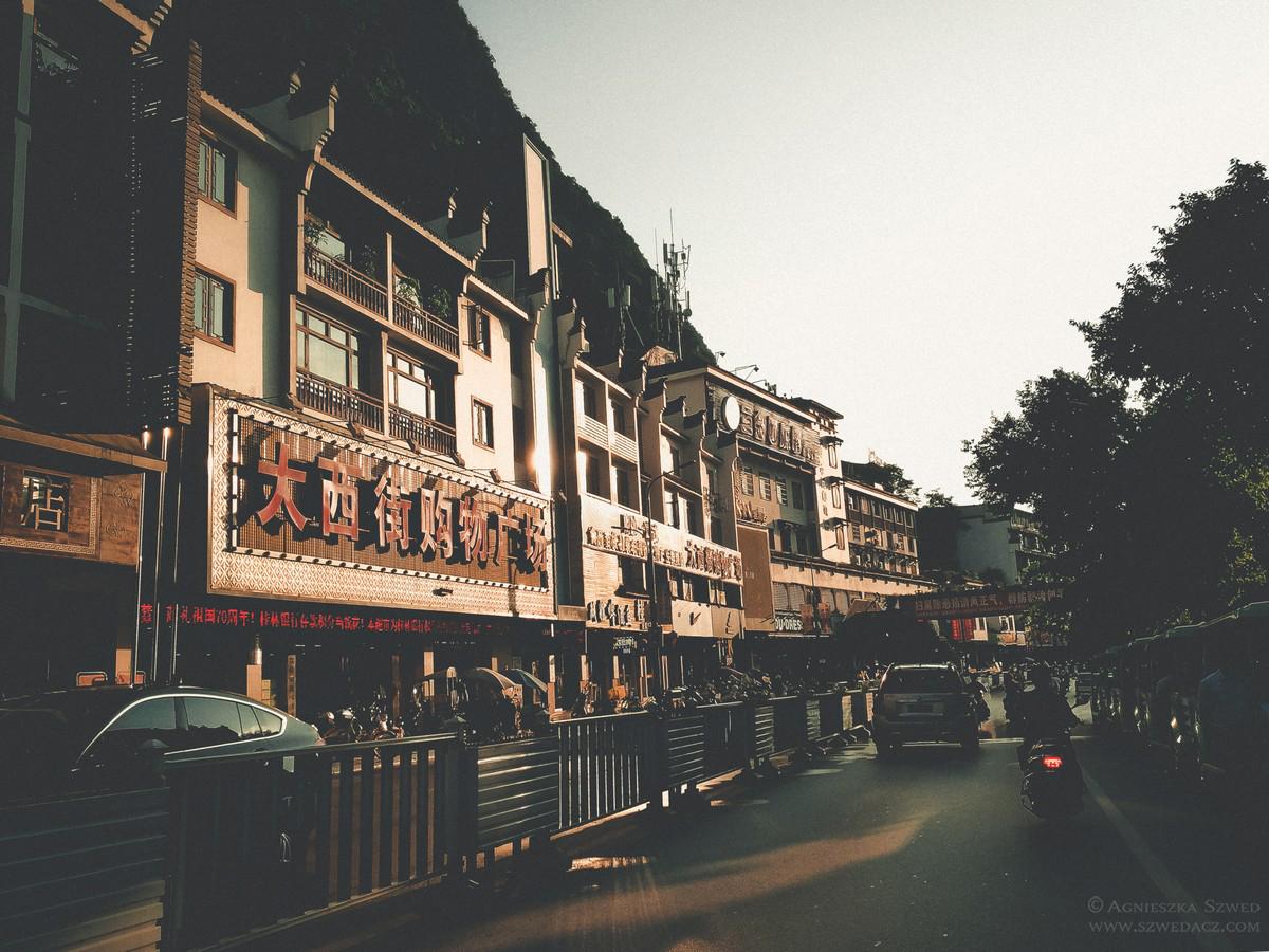 Ulice Yangshuo